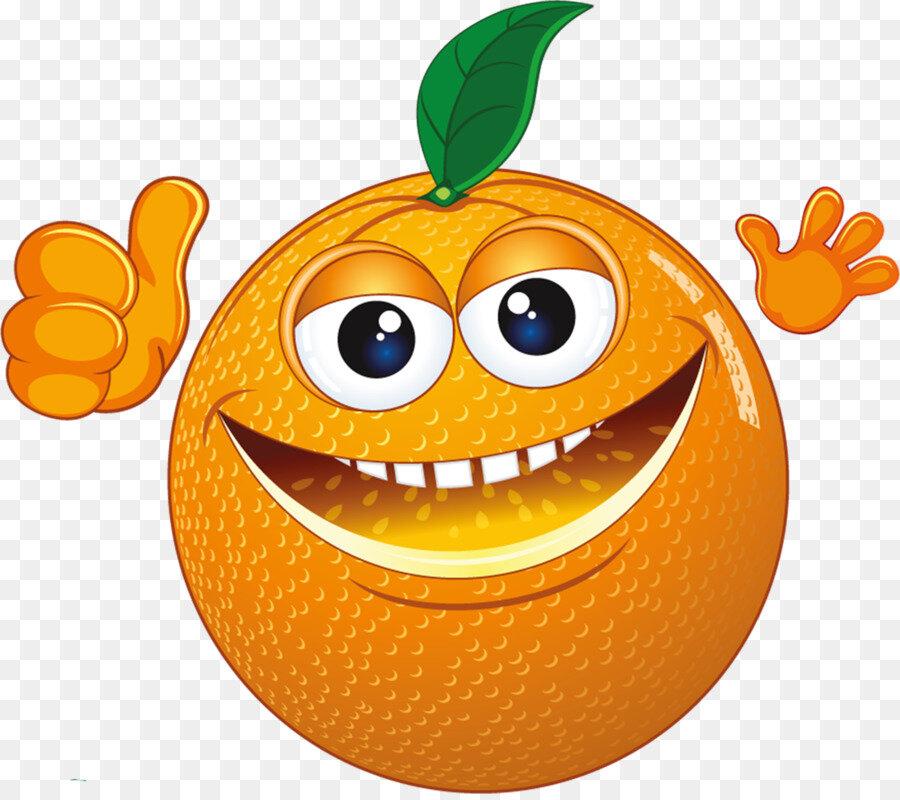 Смешной мандарин рисунки картинки