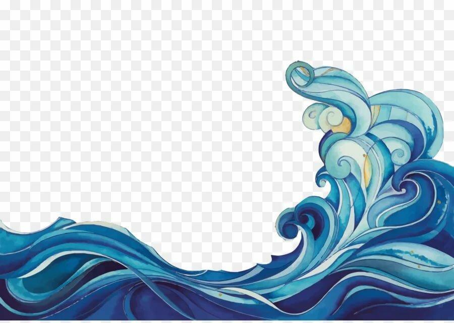 картинки волны моря шаблон платья помогут создать