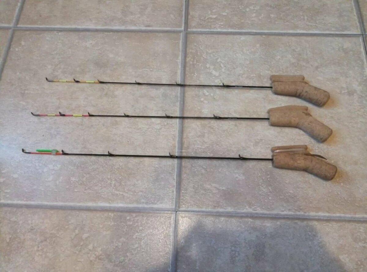 Изготовление ручки из пробки для зимней удочки