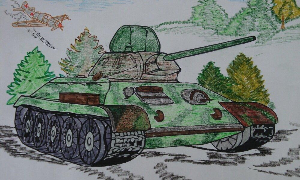 Рисунок к 23 февраля своими руками нарисовать 5 класс, мужчине хочу