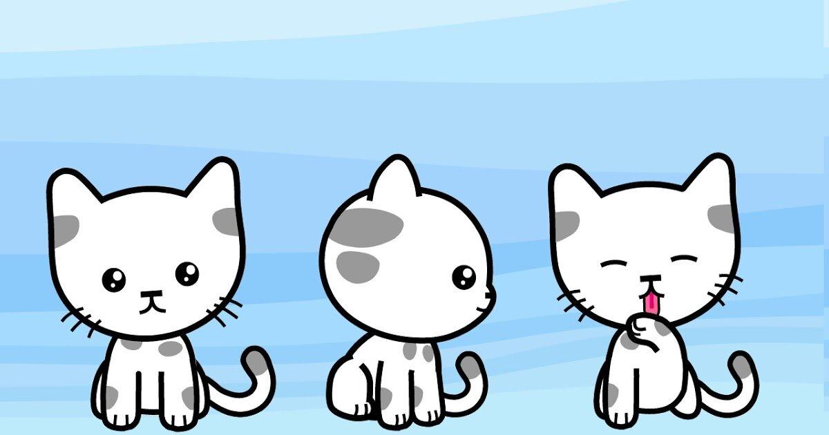 Картинки три кошки мультяшные