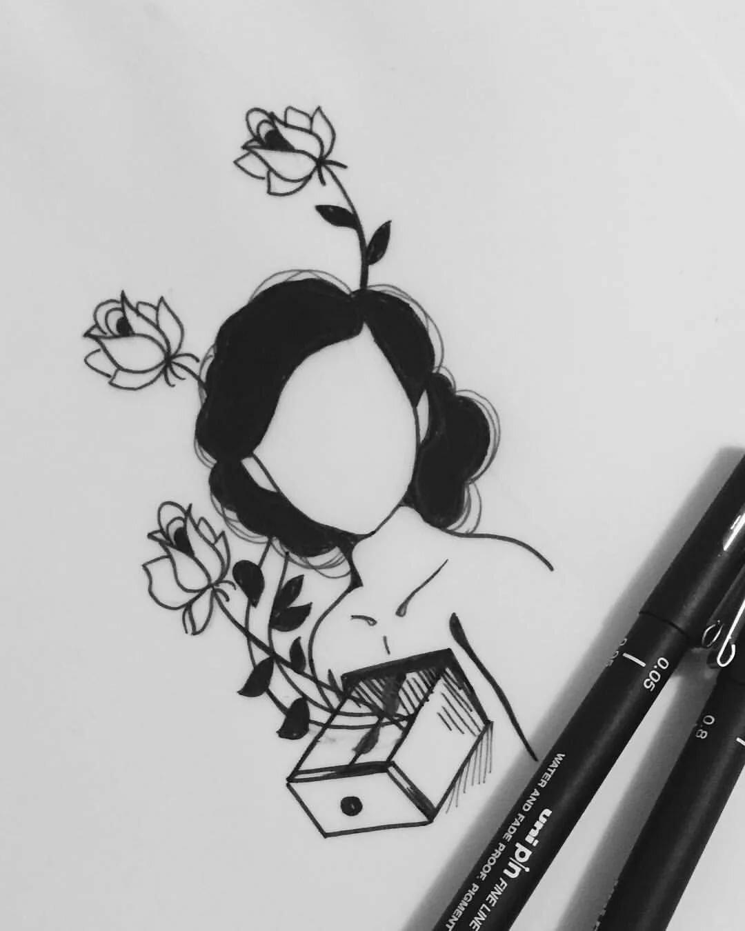 картинка черной ручкой последняя моя весна стал