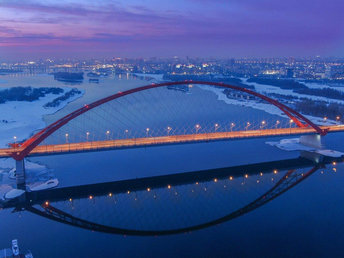 Картинки новосибирск мосты