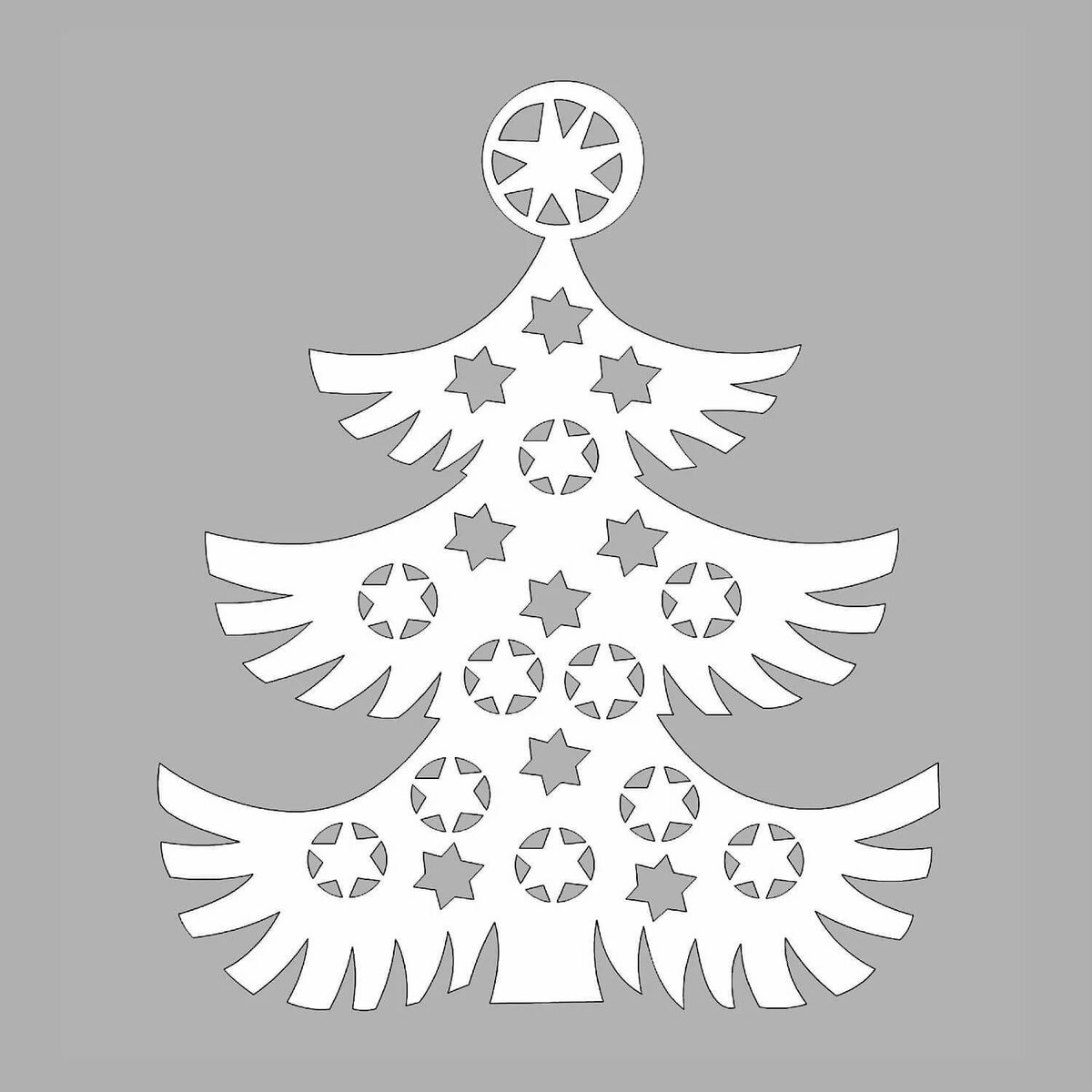 Новогодние картинки на елку вырезать