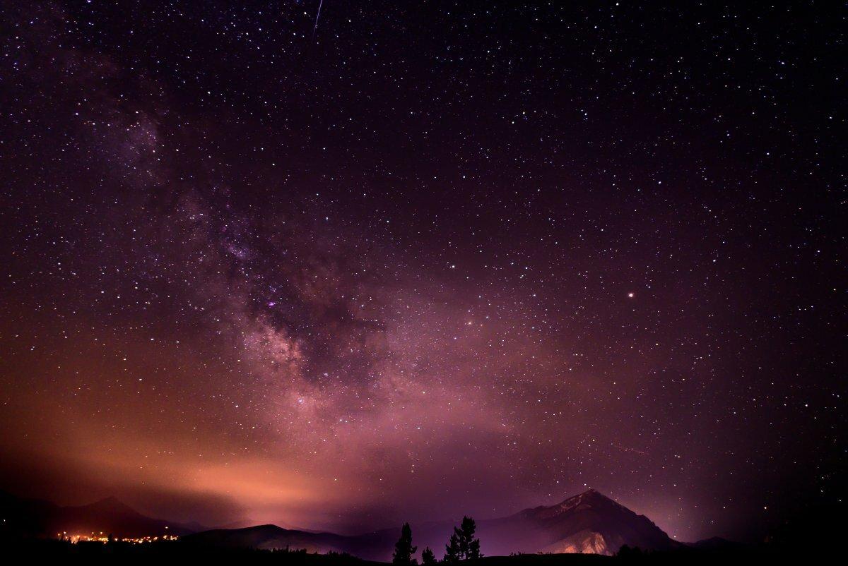 октябре прошлого лучшие фото звездного неба искусственное