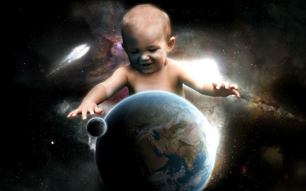 Картинки дети и вселенная