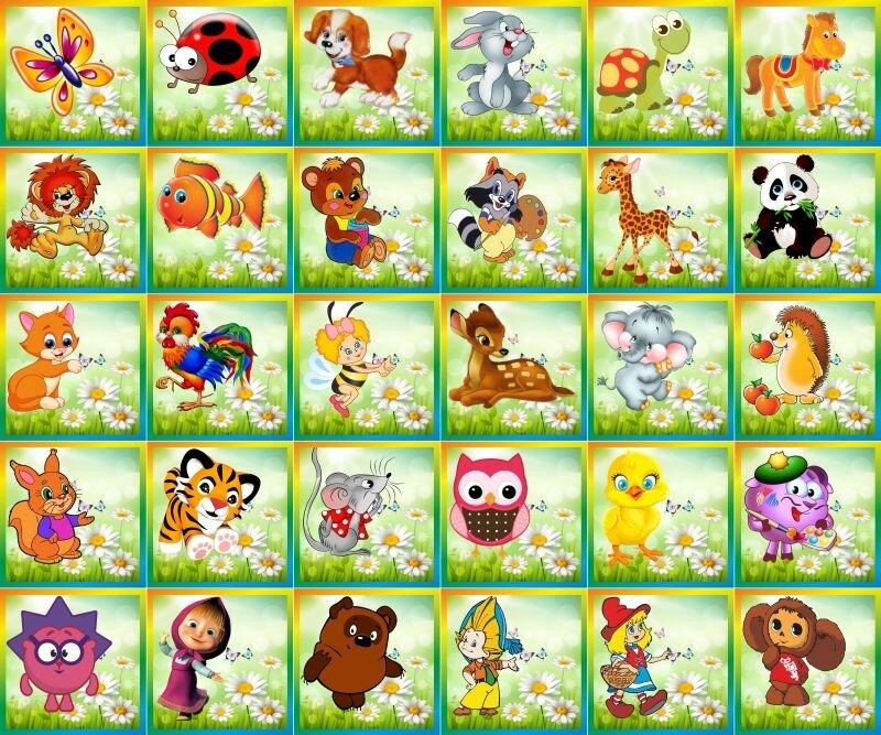 Милые картинки на шкафчики для детского сада