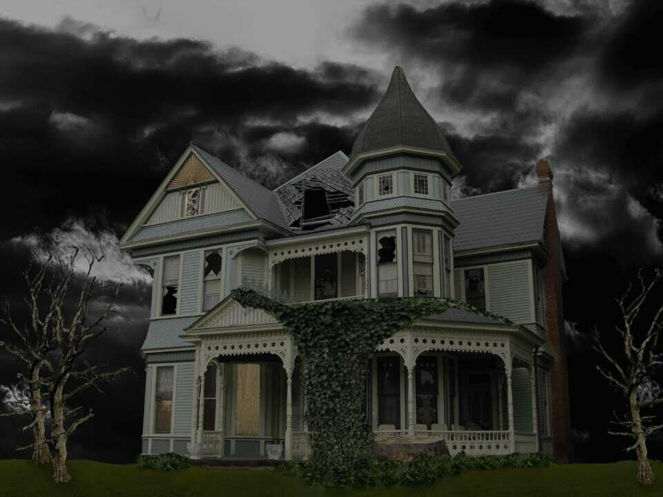 картинки загадочных домов тебе удачи