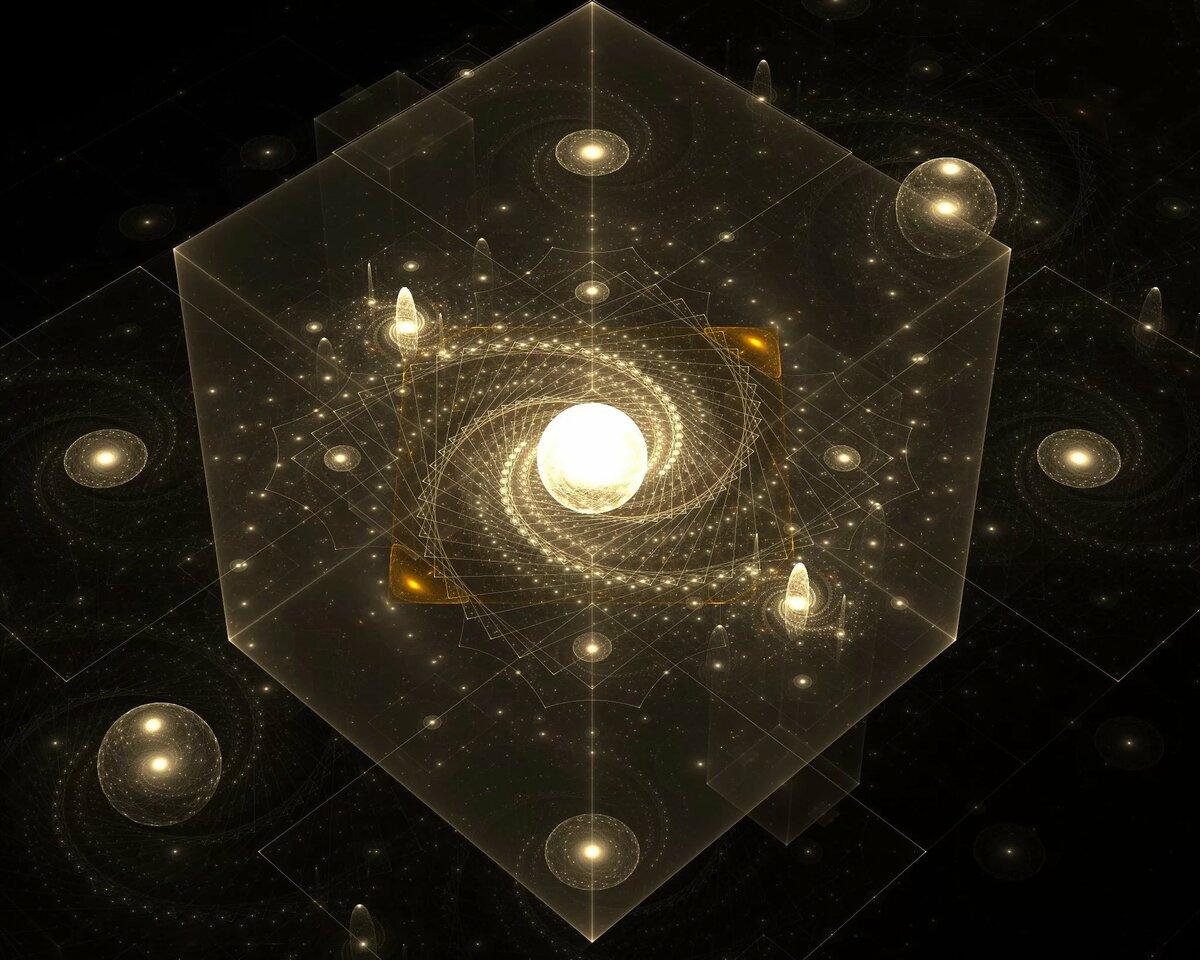 картинки геометрия в космосе материалы