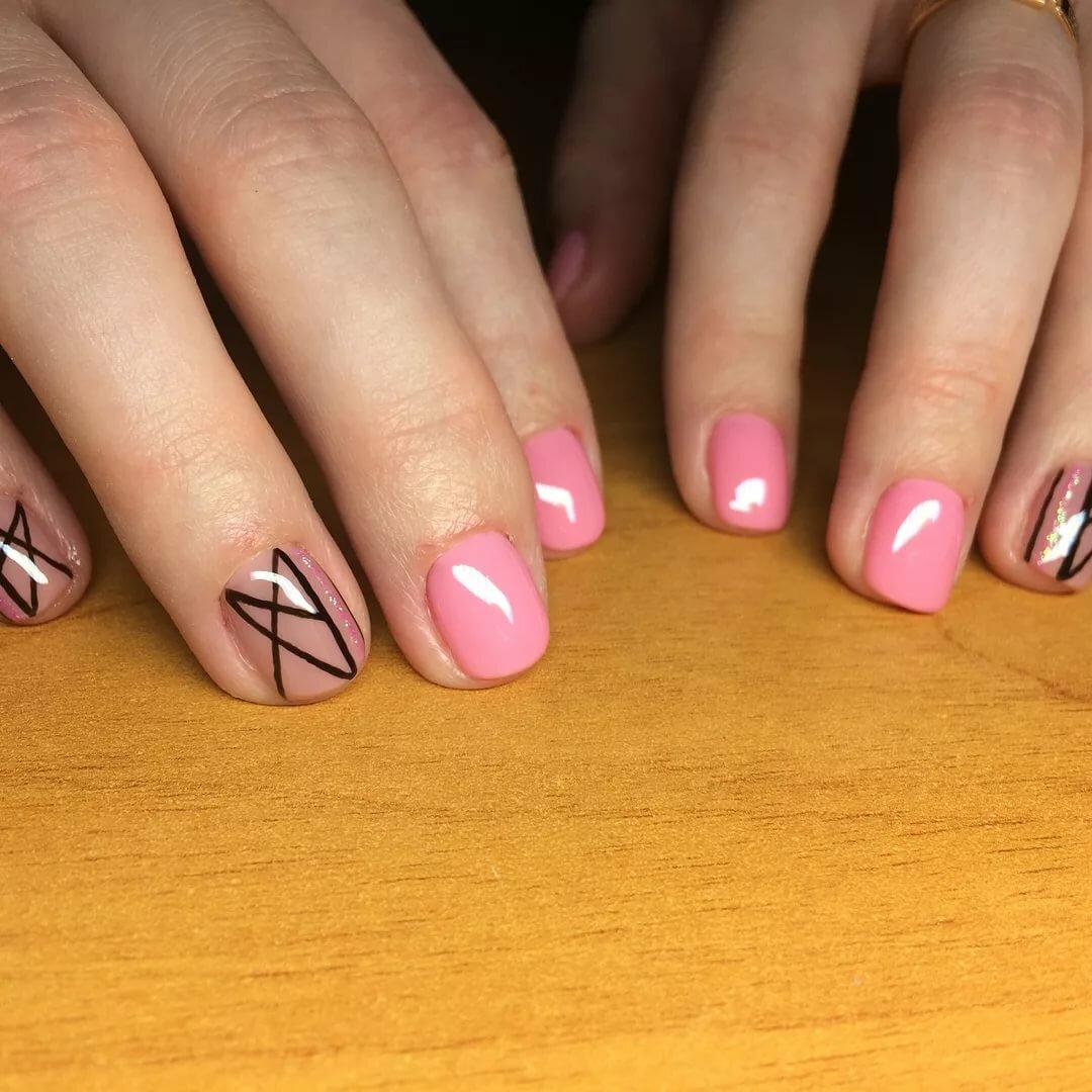 маникюр гель лаком на маленькие ногти картинки стоит выбирать