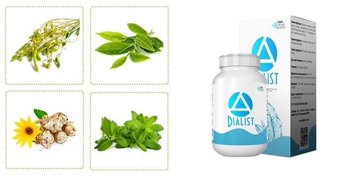 DIALIST натуральное от диабета в Батайске