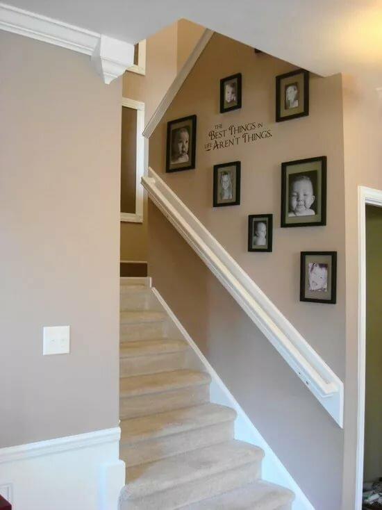можно заметить стена возле лестницы идеи фото травмы