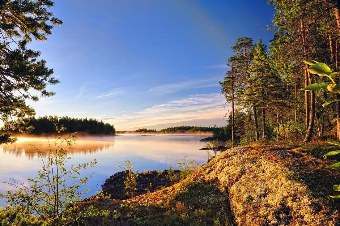 Природа северной карелии в картинках