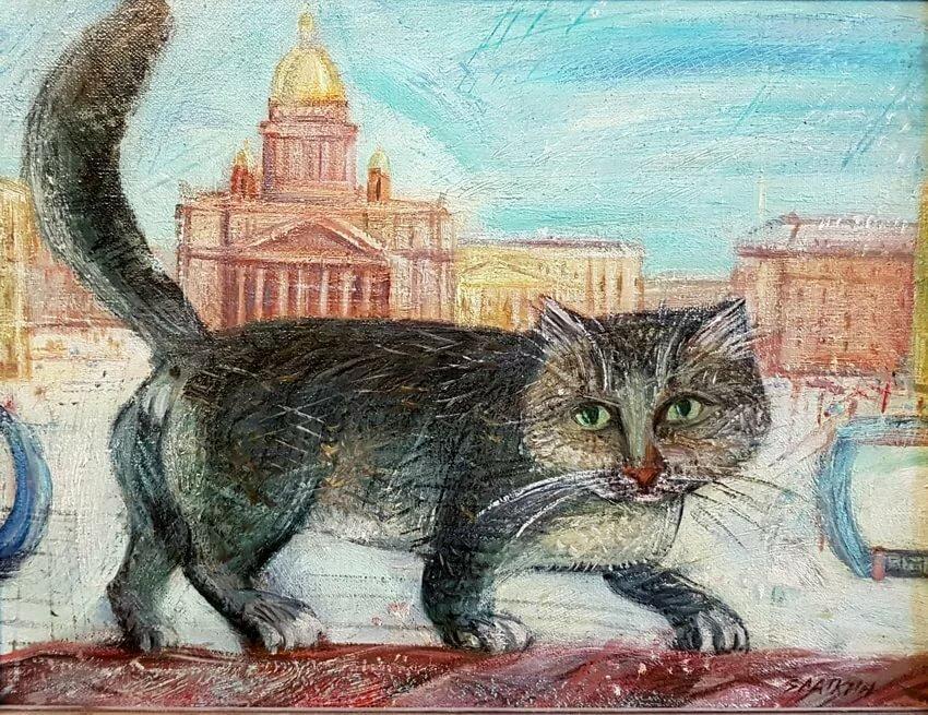 Питерские коты картинки чудин