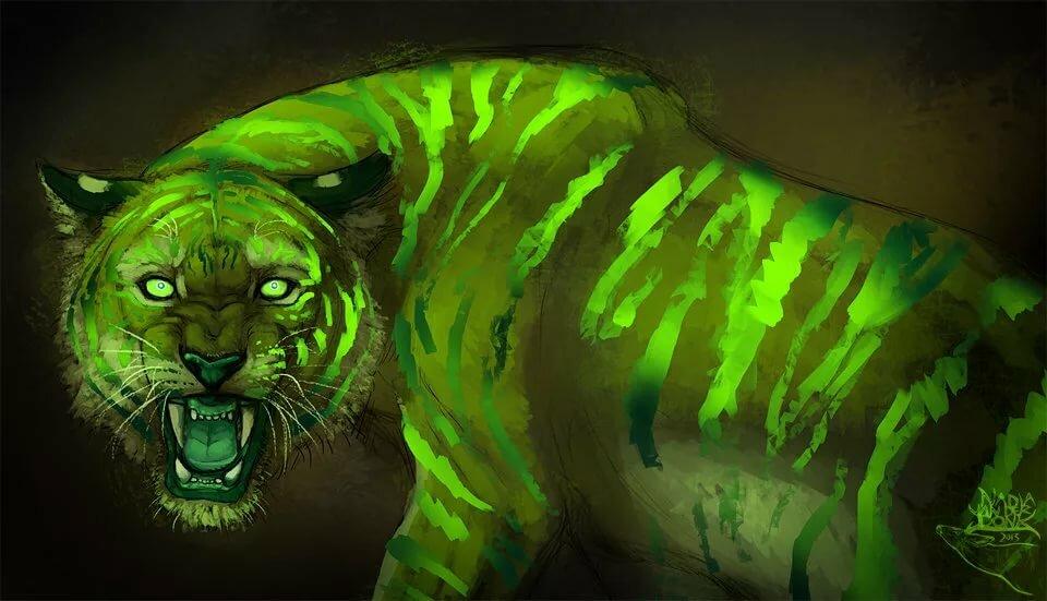 Картинки зеленого льва