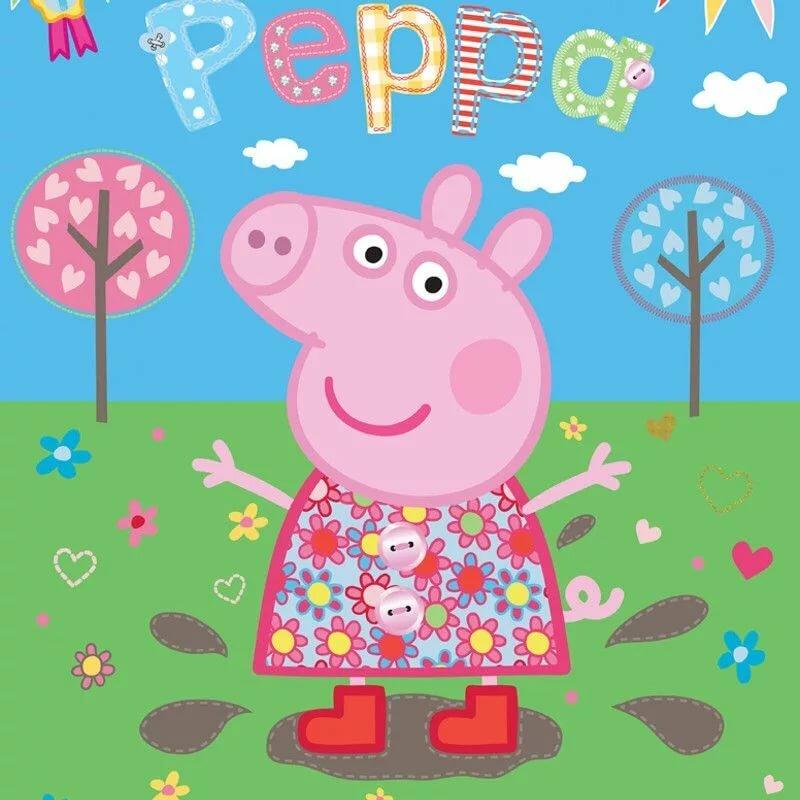 Открытки со свинкой пеппой с днем рождения
