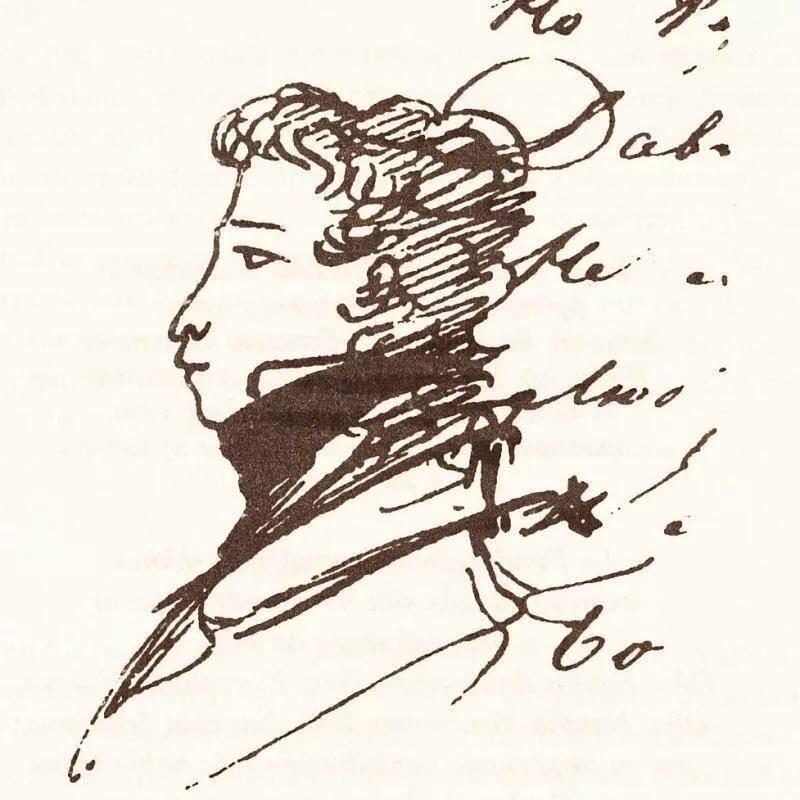 рисуем пушкина картинки что