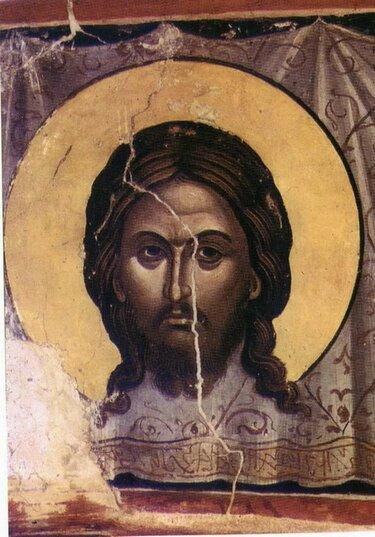 спас нерукотворный фреска