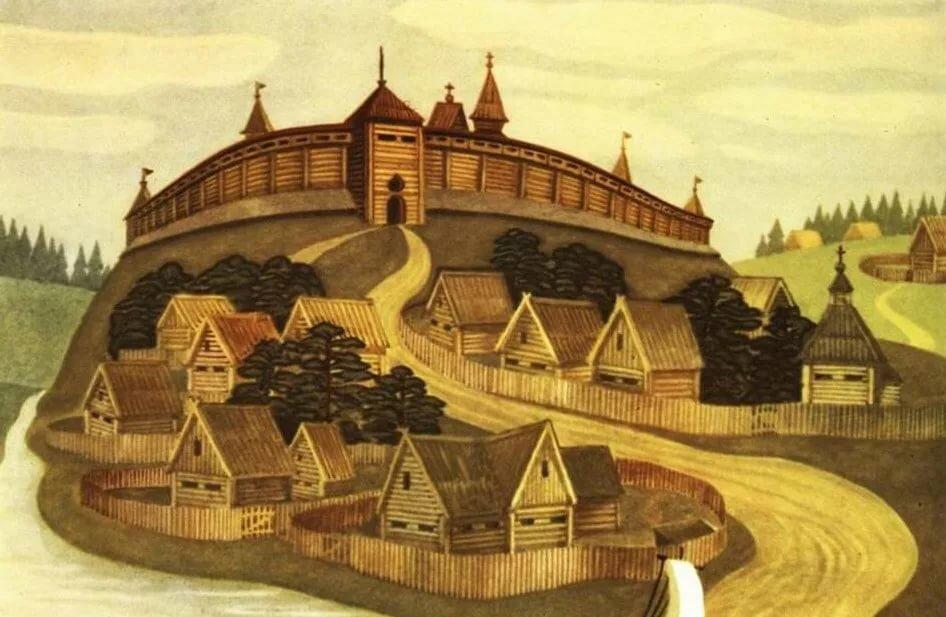 Древняя москва картинки детские