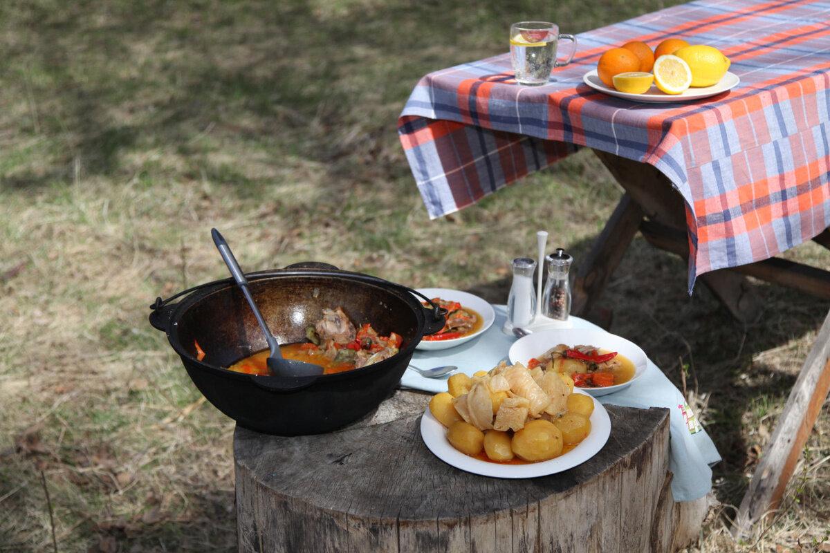 приведены еда для пикника на природе фото этом ведомости