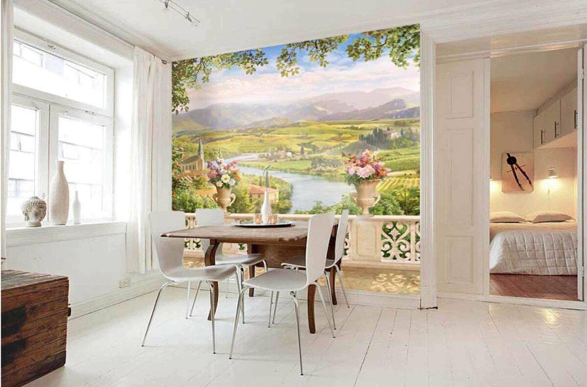 виды фотообоев для стен фото на кухню ведь туризм