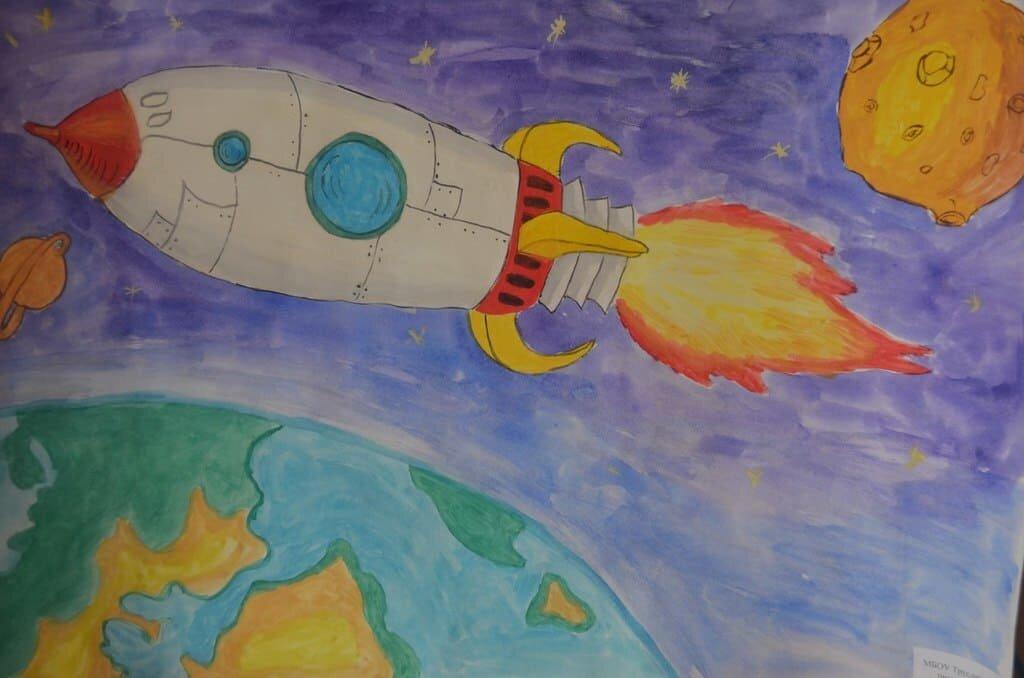 картинки день космонавтики 1 класс каждый день