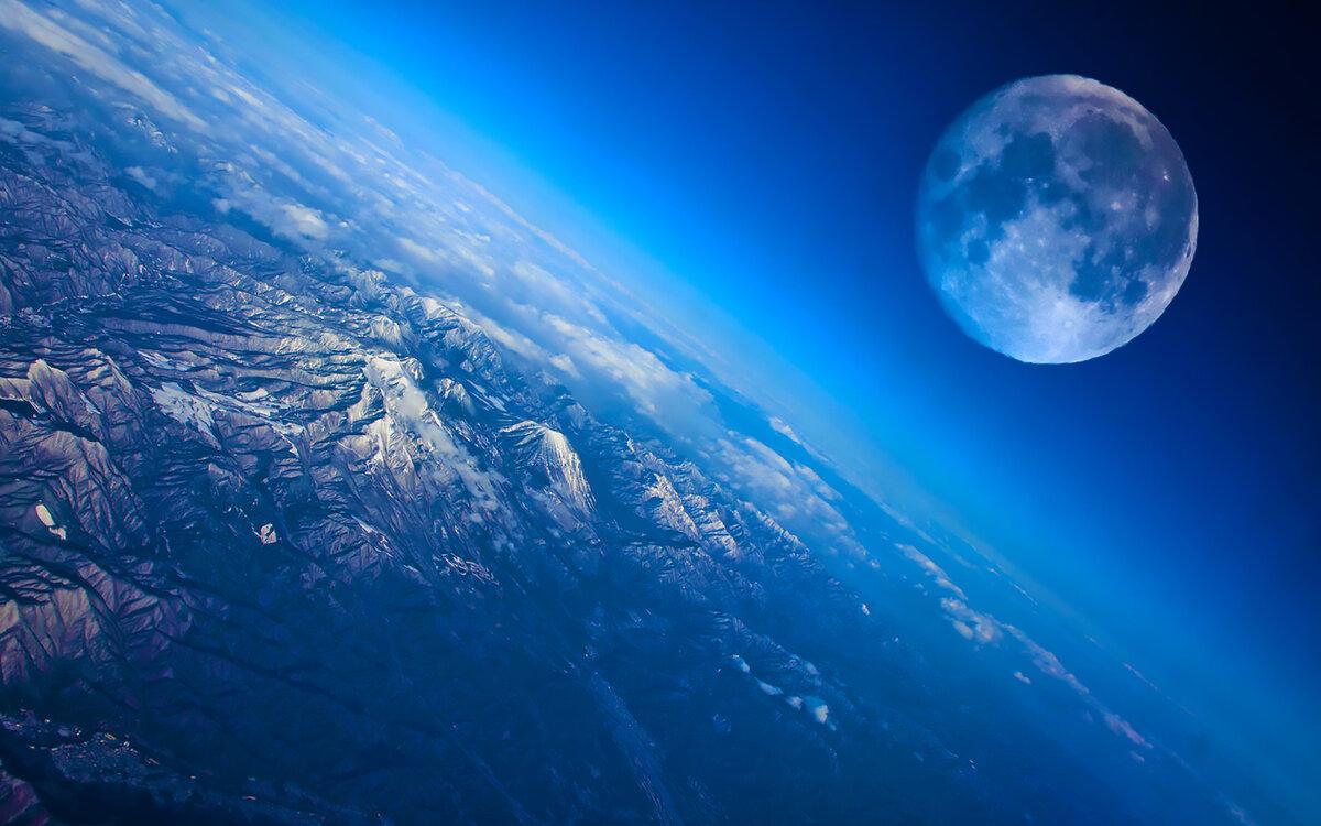 Вид на планету с космоса картинки