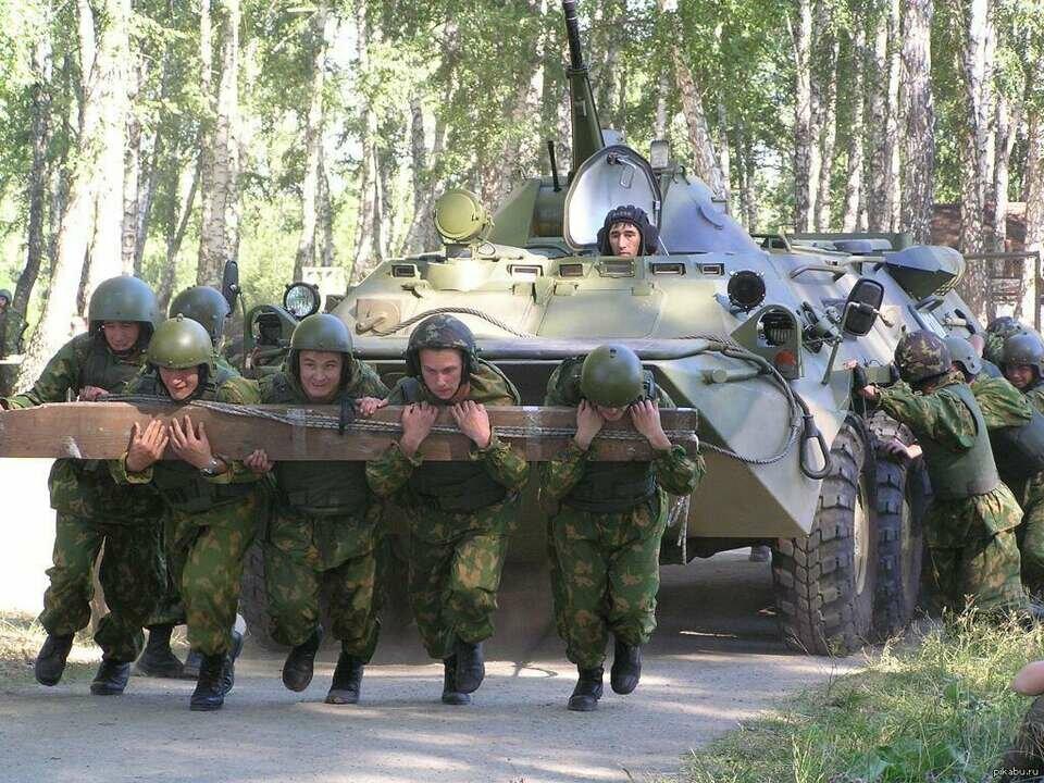 Смешная картинка из армии, сентября