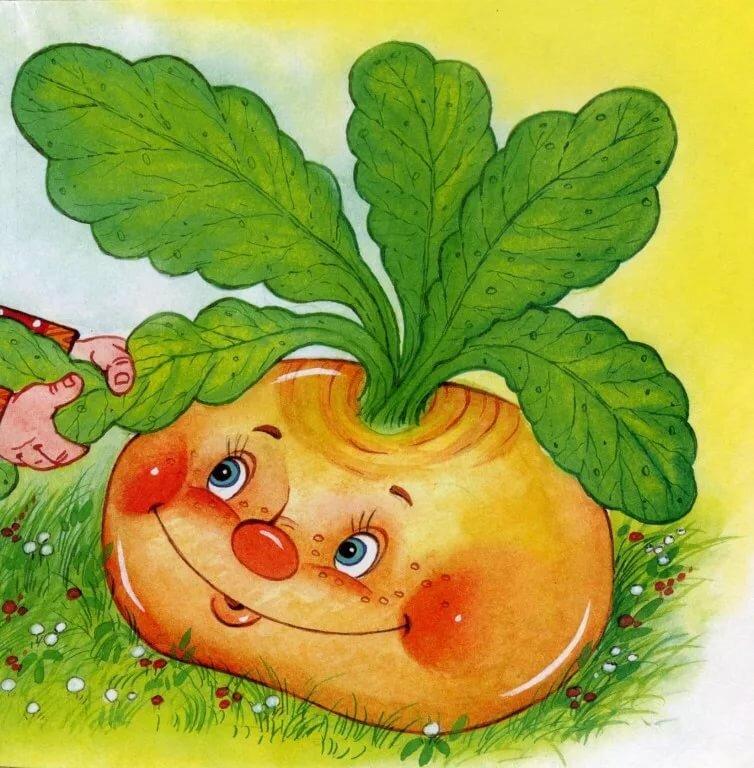 Картинка овощи репка