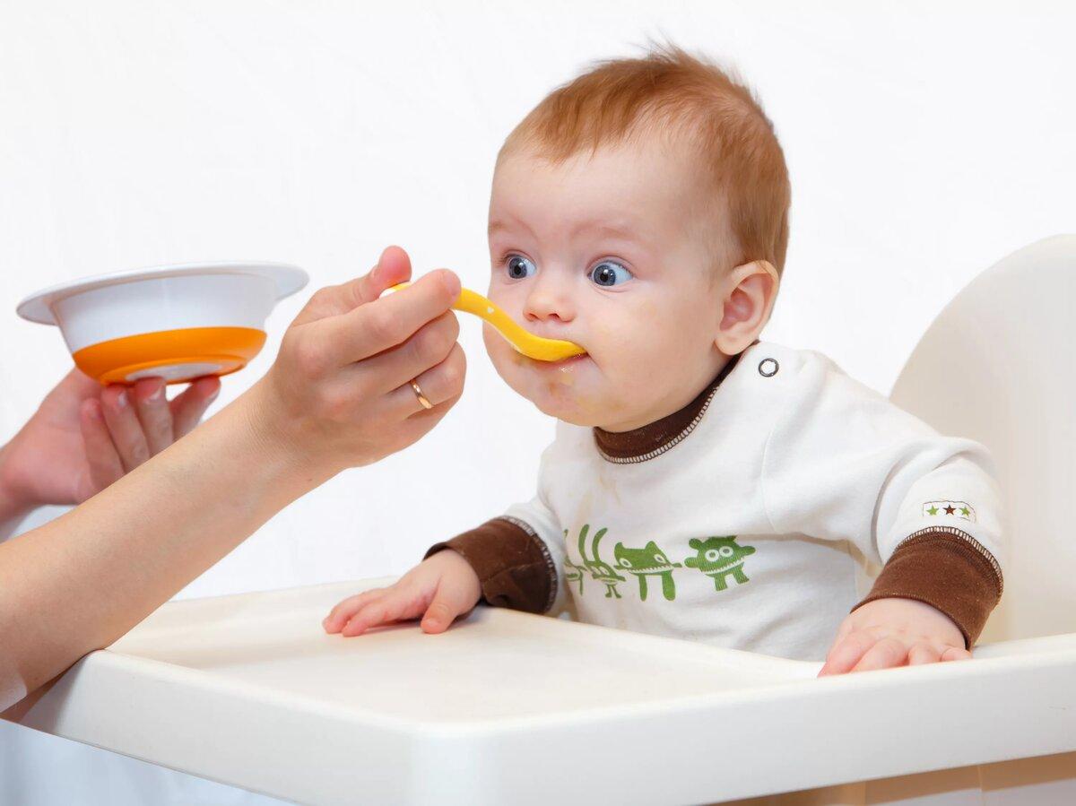 Питание ребенка 4 5 месяцев