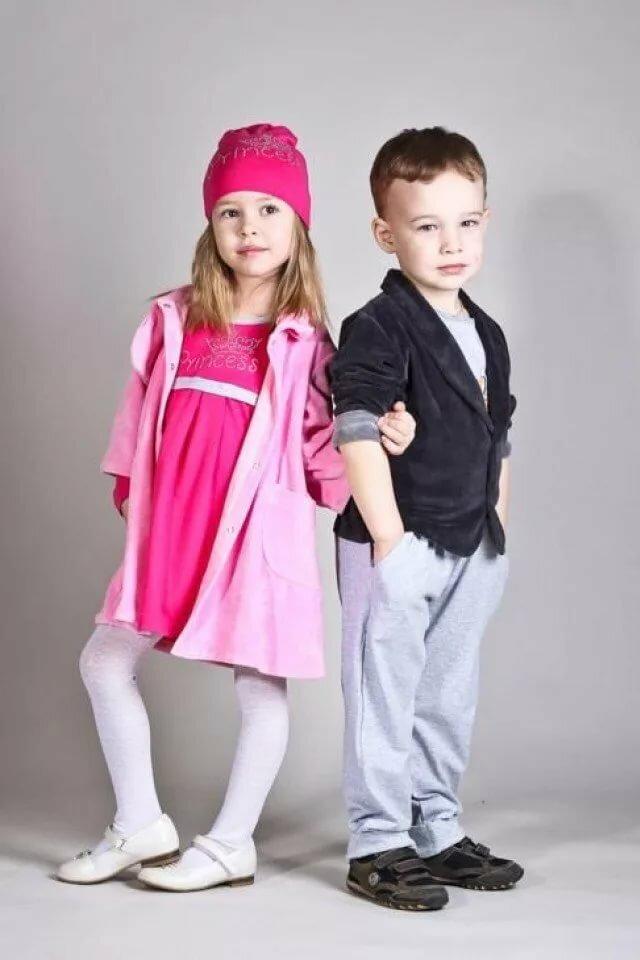 Дети в модной одежде картинки