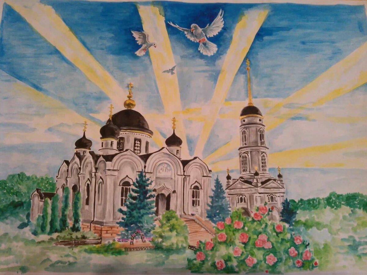 Храм картинки для детей, смотритесь открытки