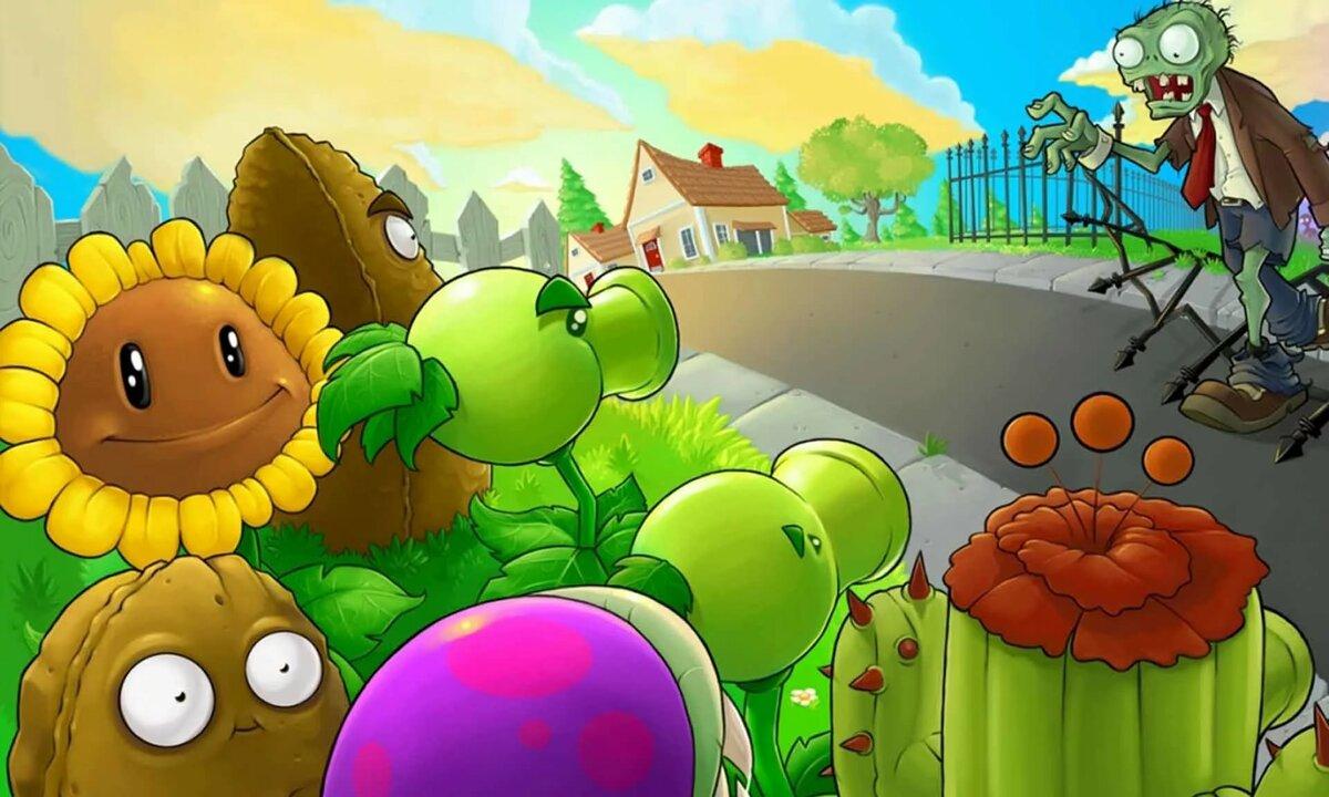 том, что картинки в игре растения против зомби переход