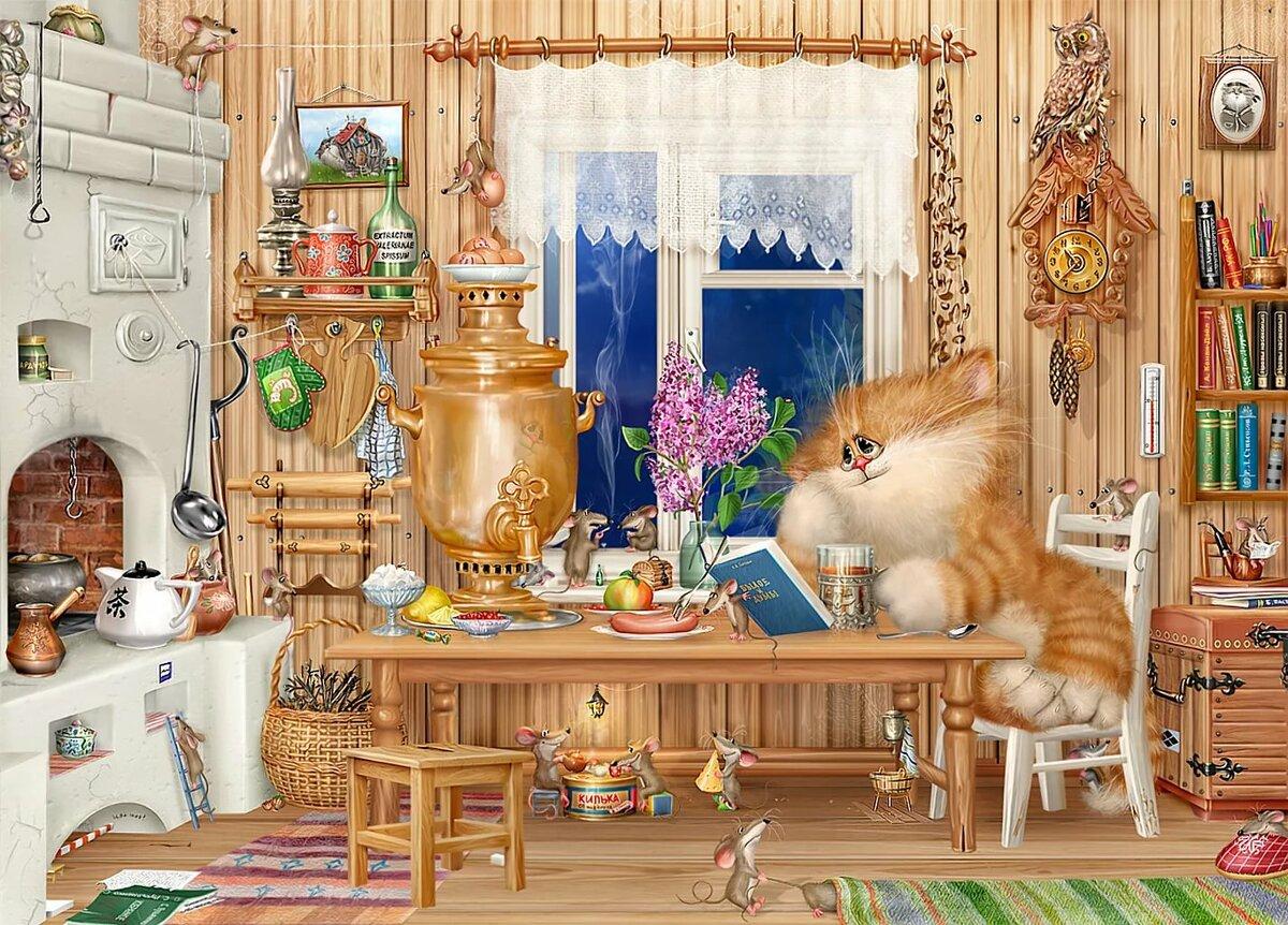 Открытки в книжном доме