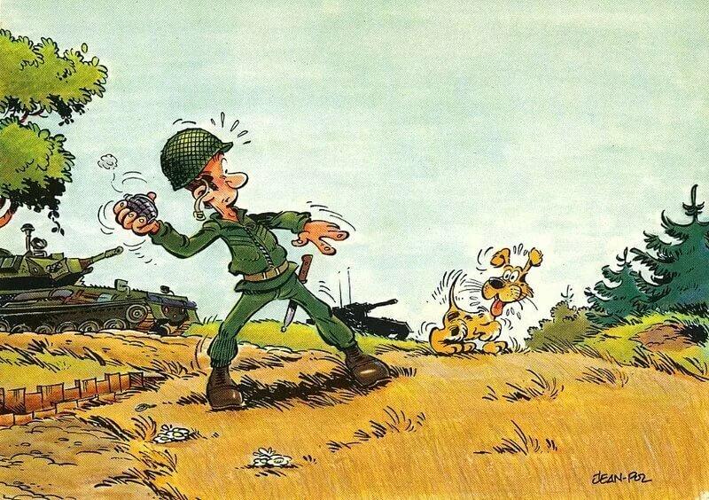 Картинка на военную тему шуточная, люблю