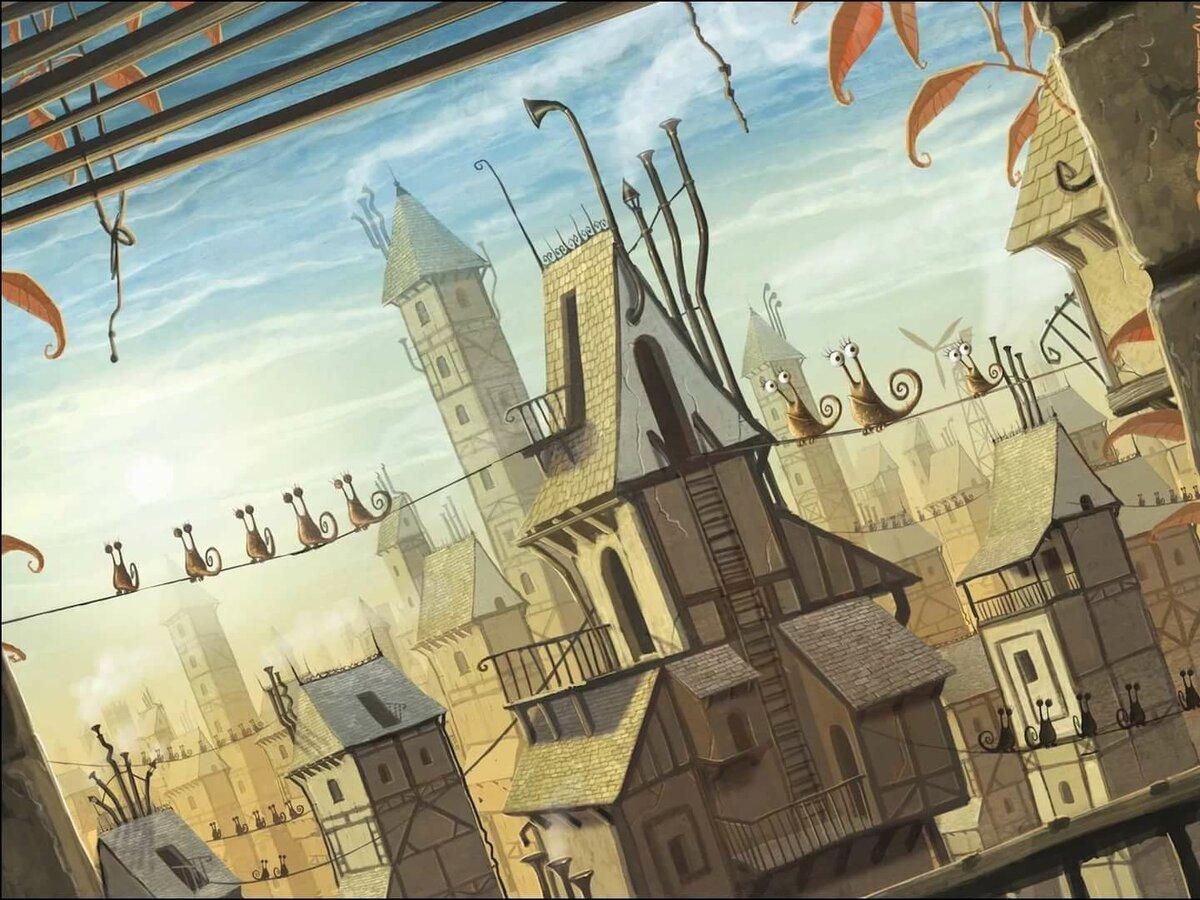 Прикольный город картинки, ягодками картинка анимация