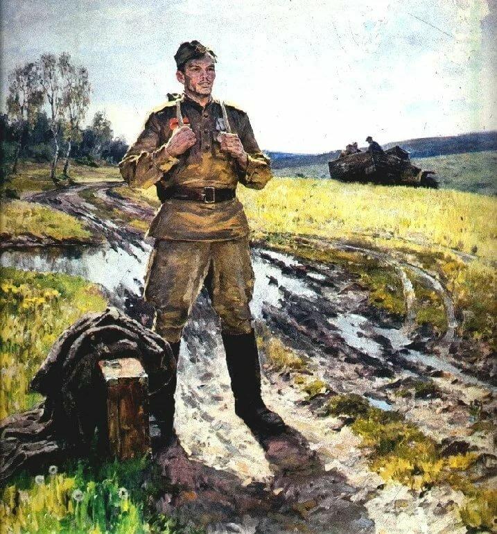 Картинки на 9 мая с солдатом со с войны вернулся домой