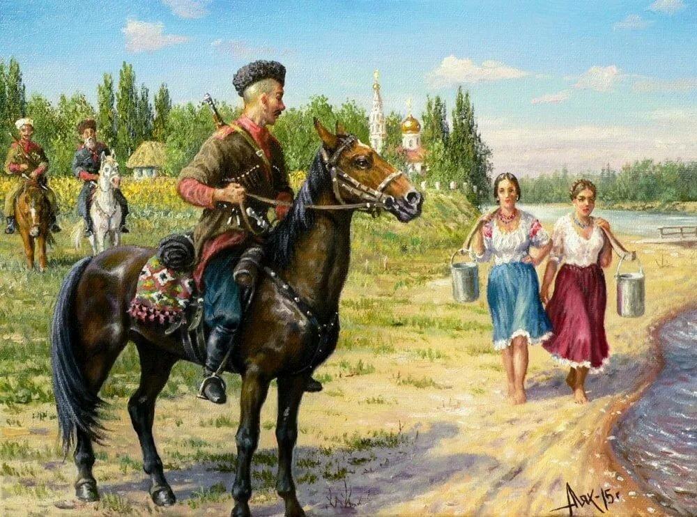картинки к песне казаки фотограф, причём большим