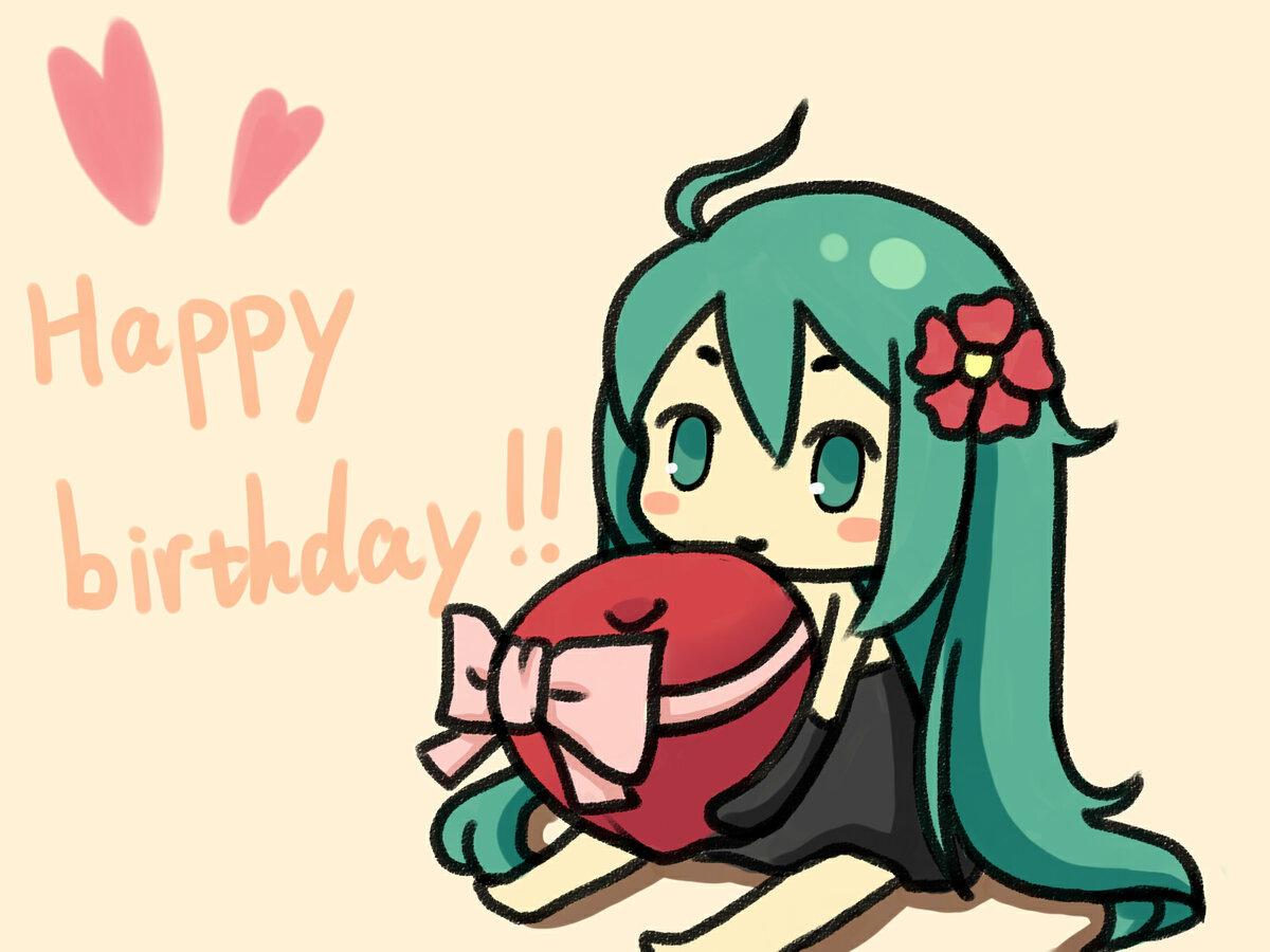 Поздравления с днем рождения маме аниме