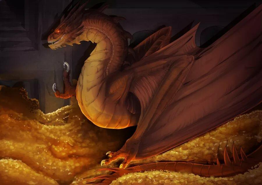 дракон клад картинки просмотру фото-галерею идей
