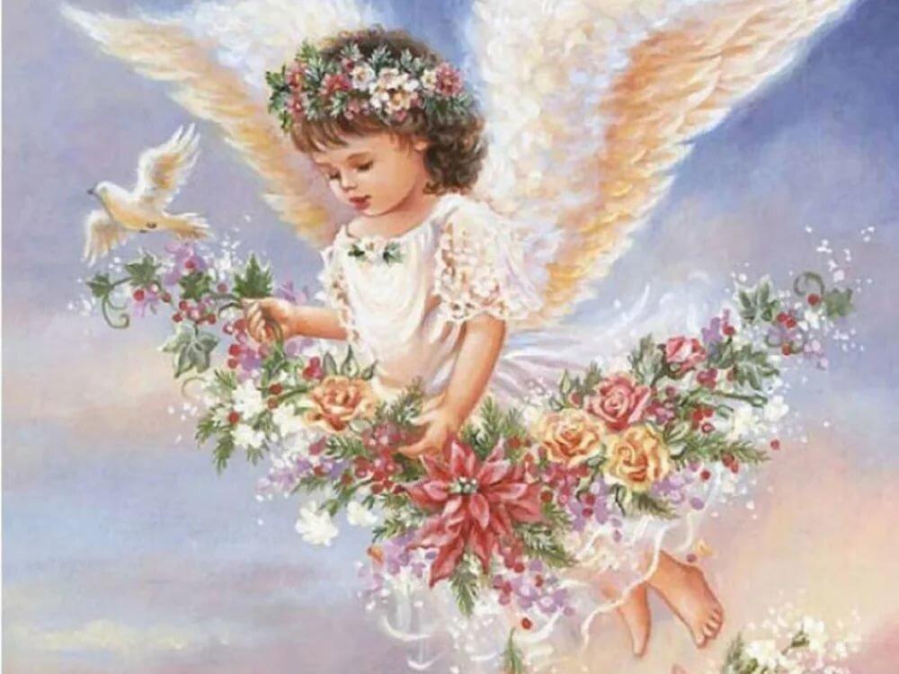 Поздравит открытки день ангела, днем рождения