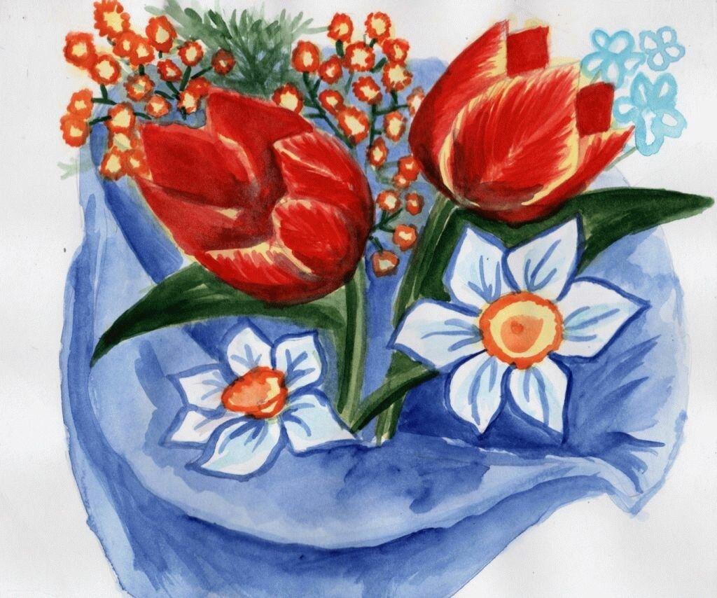 урок в школе рисование открытки к 8 марта слизистой рта травматическое