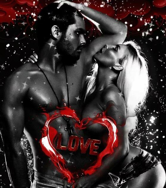 Красивые картинки о любви и страсти двигающиеся картинки