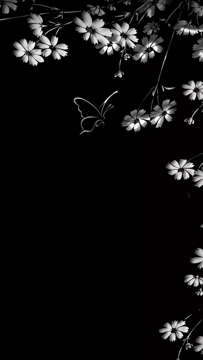 процесс помощи красивые черно-белые обои на телефон вертикальные значок