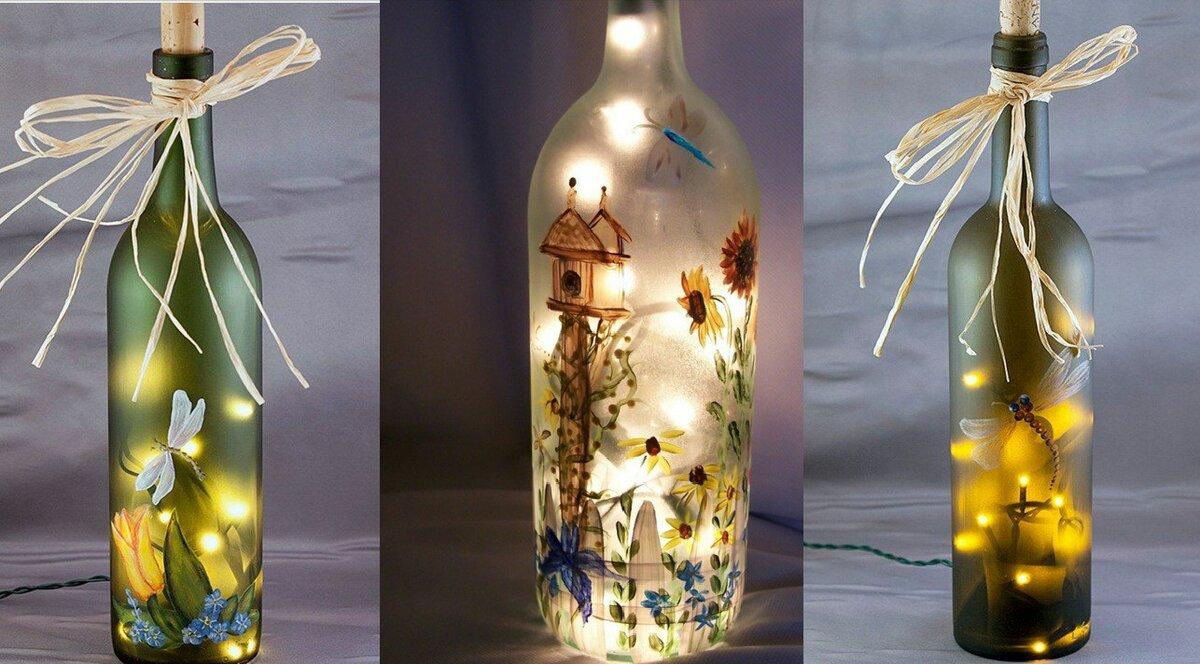 всех поделка из стеклянной бутылки своими руками фото зачастую