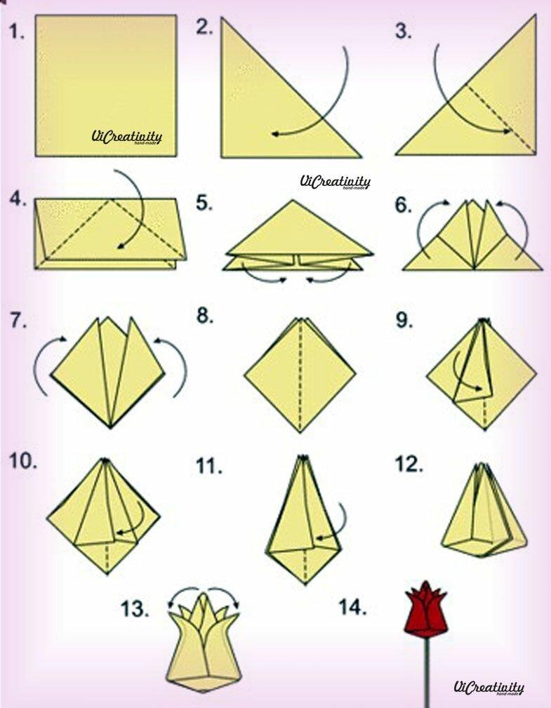 Для, как сделать оригами картинки или видео