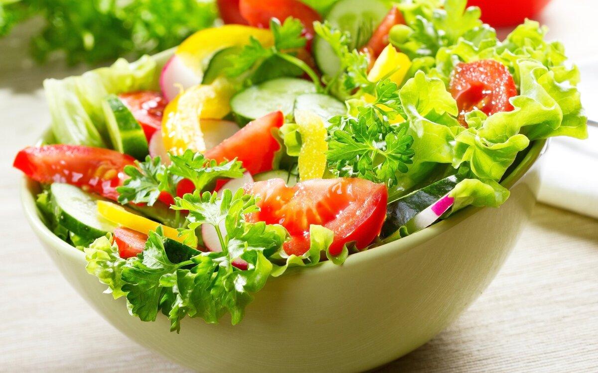 Картинки, картинки с салатами из овощей