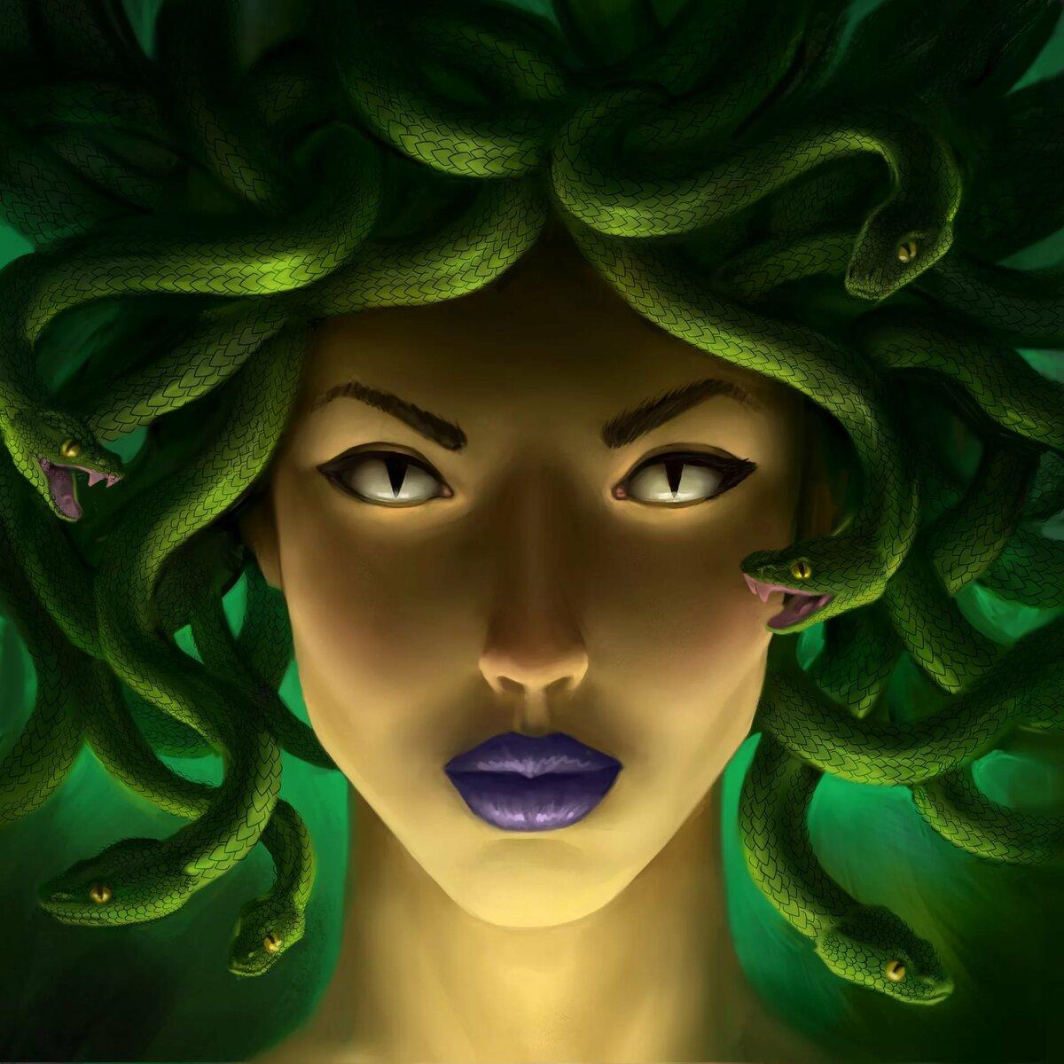Открытка с медузой горгоной, сентября картинки