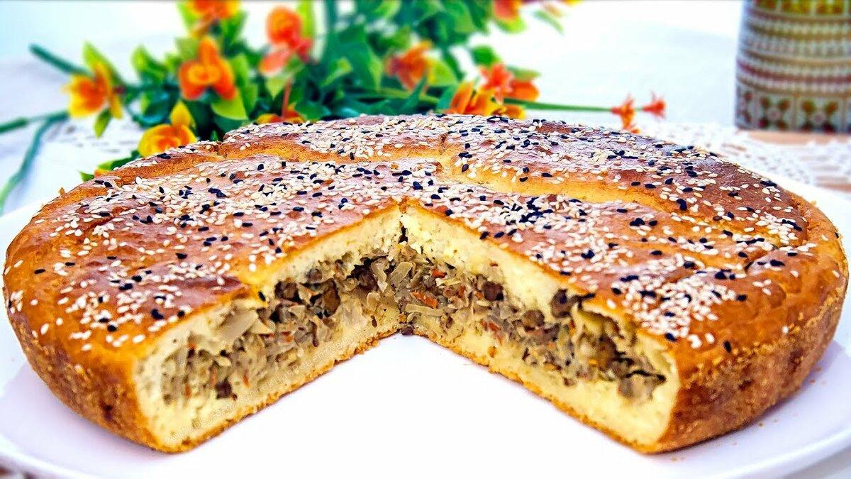 Заливные пироги на кефире рецепты с фото