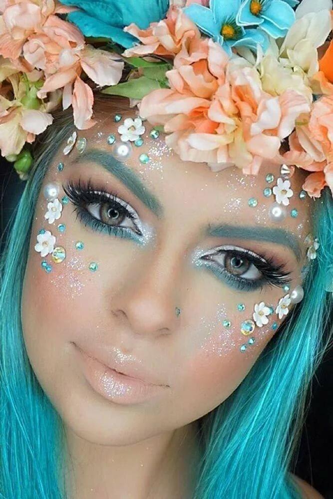 Sexy spring makeup